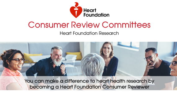 Heart Foundation Research Consumer Review Committees - group of people smiling at each other