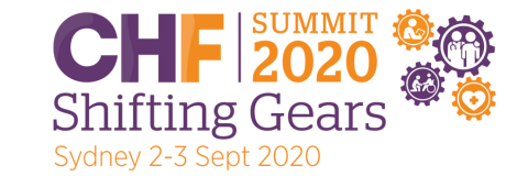 CHF Summit 2020 Logo in Sydney Sept 2-3