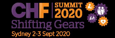 CHF Summit 2020 Logo in Sydney Sept 2-3